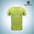 High quality colorful men sport compression shirt with three colors