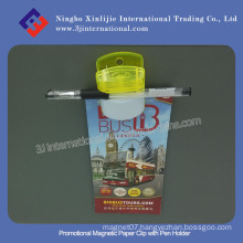 Promotional Magnetic Paper Clip with Pen Holder