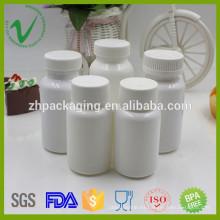 HDPE paquete médico de suplemento alimenticio uso botella de plástico en Shenzhen