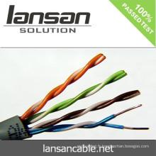 2014 Câble LAN UTP CAT5e à vente chaude Câble réseau 4 PAIR