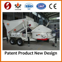 CE MB1200 portable concrete mixing plant for sale 10M3/H