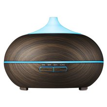 Latest Wood Grain 300ml Ultrasonic Diffuser With LED