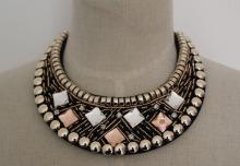 Fashion Jewelry Charm Chunky Costume Necklace