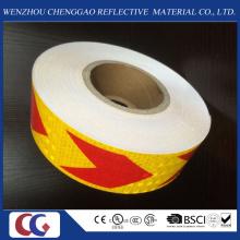 Reflektierender Materialklebstoff Pfeil-Band für Sicherheit