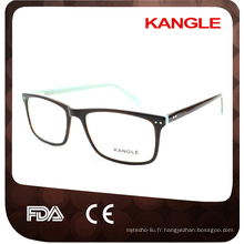 Styles classiques unisexes best seller acétate montures optiques et lunettes lunettes