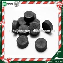 Feiyang shisha color humo briquetas de carbón precio para la venta