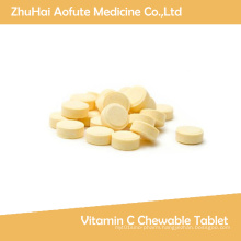 2015 Hot Sale Vitamin C Chewable Tablet GMP Approved