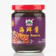 Deliciosa salsa hoisin en tarro de vidrio de 230g