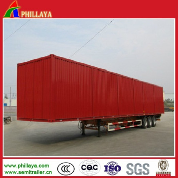 Camion semi-remorque fourgon