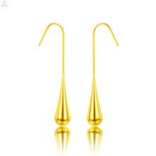 Simple Stainless Steel Water Drop Teardrop Earrings