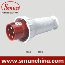 5pin 63A/125A Electrical Plug, Cee Male Plug, IP67 6h Waterproof Plug