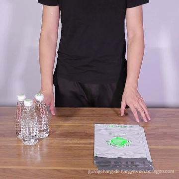 Biologisch abbaubare Plastiktüte Selbstdichtende Tasche für Kleidung