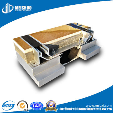 Architectural Flooring Aluminum Seismic Expansion Joint Covers with Rubber Filler
