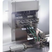 Leaflet Automatic folding and feeding feeder