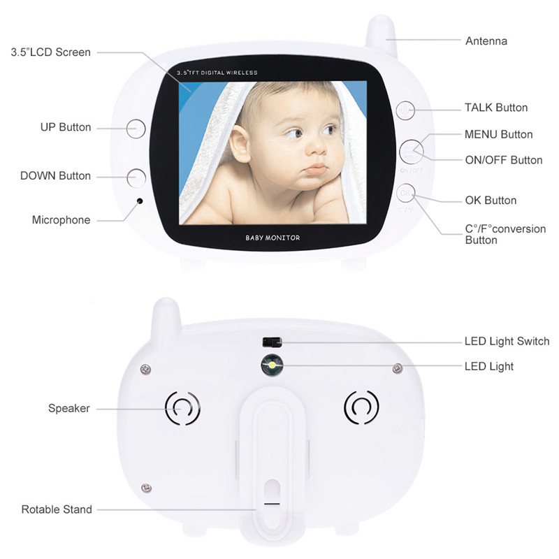 best cheap video baby monitor