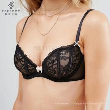 bangladeshi hot sexy photo femme mince soutien-gorge en coton sexy Sexy Dentelle Désossé Under Wire Bra