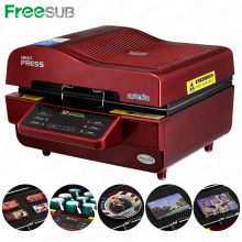 FREESUB Sublimation Heat Press Machine Wie man einen Telefon Fall machen