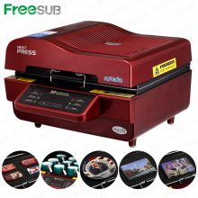 FREESUB Sublimation Personnalisé Mobile Covers Heat Press Machine