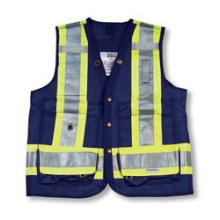Navy Color 100% Polyester Surveyor Vest