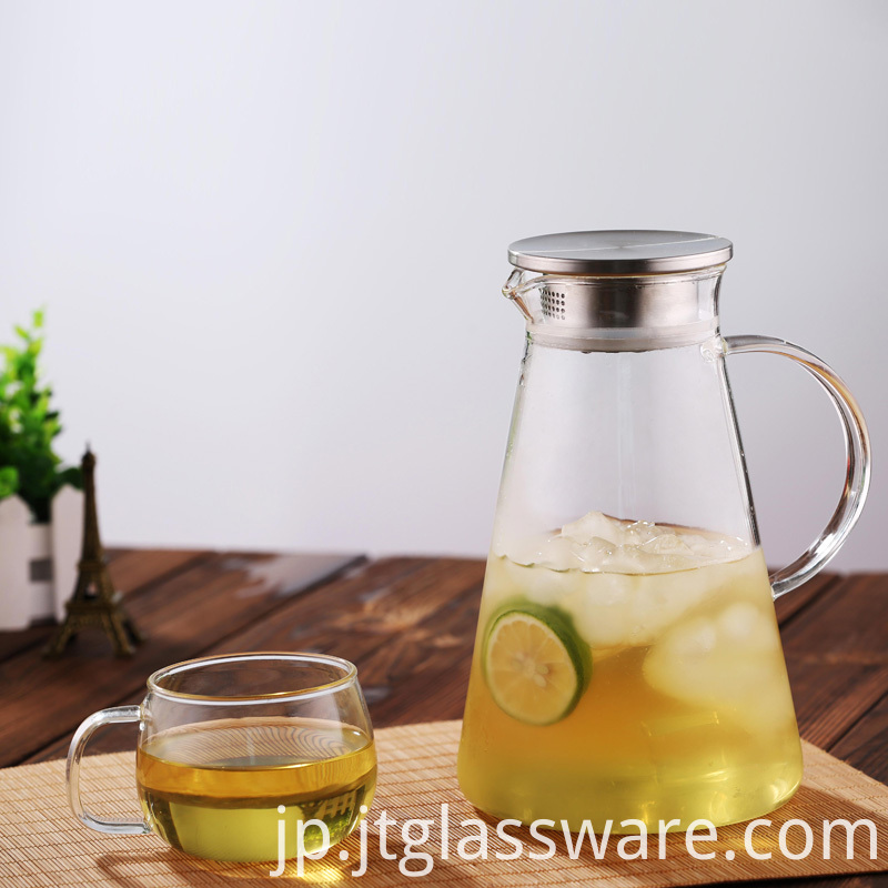 Juice 2L Glass Pitcher