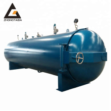 Steam Small Rubber Curing High Pressure Vulcanizer Autoclave / Semi-automatic Cheap Vulcanizer Chamber