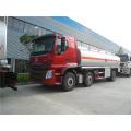 Camion citerne en acier inoxydable de 18000 litres de carburant
