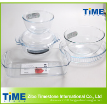 High Borosilicate Glass Material Bakeware Item