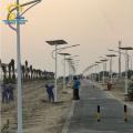 Longue vie de travail a mené le réverbère solaire