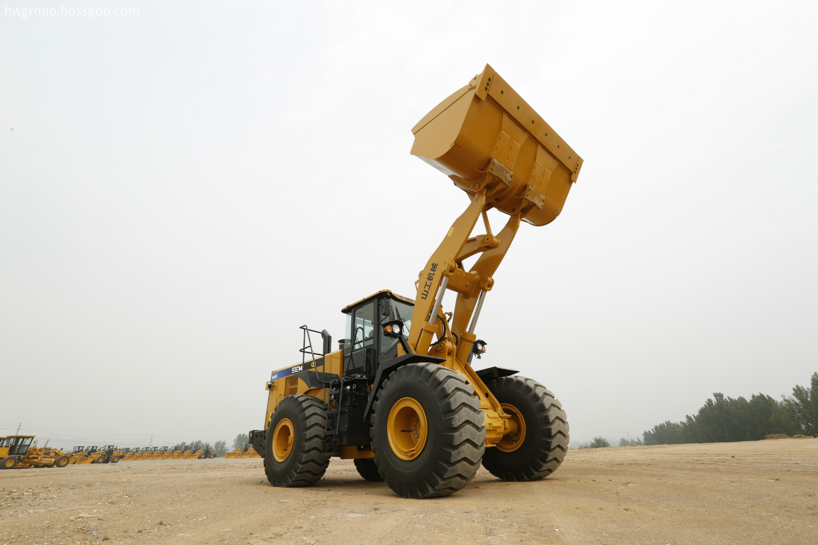 SEM680D Wheel Loader