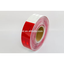 DOT-C2 REFLECTIVE TAPE, white 6'' and red '' dot c2, Reflective Tape