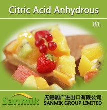 Citric Acid Anhydrous food grade factory supplier