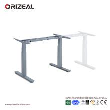 Height adjustable office table desk design