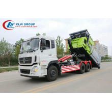 HOT SALE Dongfeng 16cbm carriage removable garbage truck