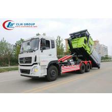 VENTE CHAUDE camion à ordures amovible transport Dongfeng 16cbm