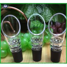 Vertedor de aireación de vino tinto premium