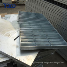 Hengshui factory 1.2*3m 1.2*2.5m Q235 hot dip galvanized structure steel steel grating