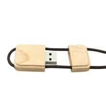 Gift Wooden Custom Logo USB 2.0 Flash Drive