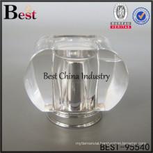 transparent crown cap for perfume