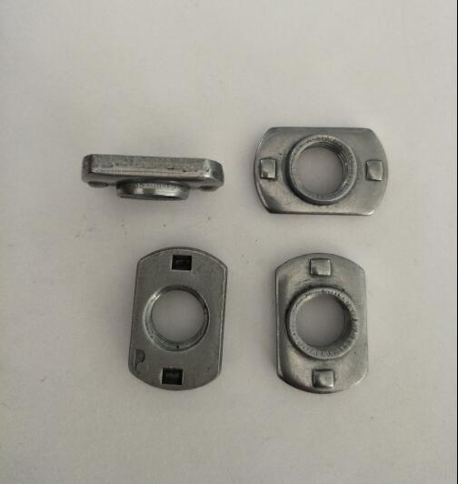 Plane automobile spot welding nuts for car