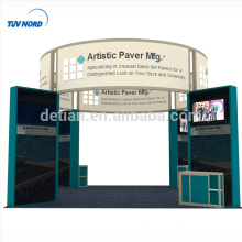 Detian Offer advertising display custom trade show booth display exibition