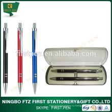 Школьная канцелярская алюминиевая ручка и набор для карандашей