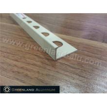 Aluminum Profile L Shape Strip Decoration Trim with Powder Coating