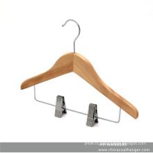 Детские клипы деревянные вешалка для естественной младенца вешалка для одежды