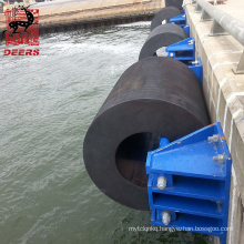 Deers hollow cylindrical bow stern fenders for boats and port