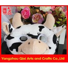Máscara do partido máscara de animal de brinquedo de pelúcia máscara de vaca atacado máscara facial