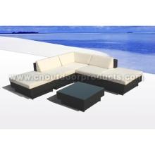 Rattan muebles sofá