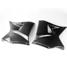 Carbon motorcycle dash panels