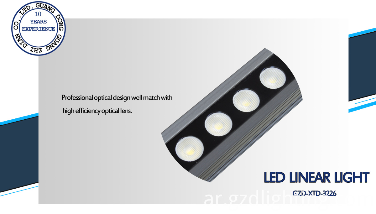 waterproof led linear light