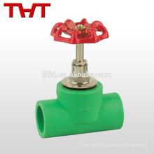 Tuyau barb ppr clapet anti-retour / plastique cpvc non-retour valve