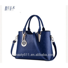 Nuevos bolsos vendedores calientes HB51 de las mujeres del bolso de hombro del cuero genuino de las señoras del bolso de totalizador de las compras de la manera